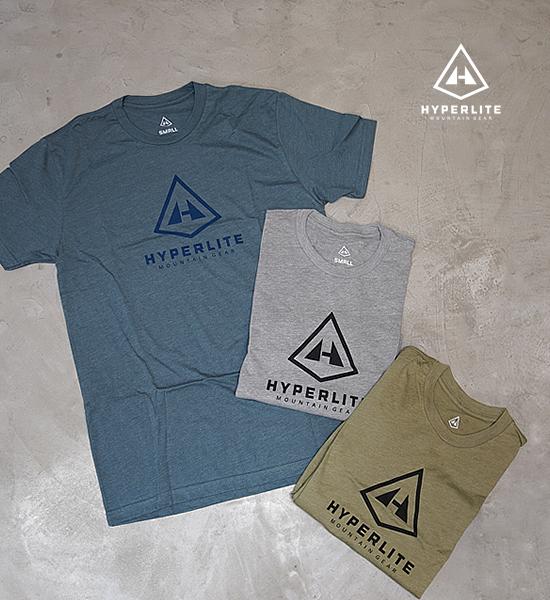 "【Hyperlite Mountain Gear】ハイパーライトマウンテンギア Vertical Logo Tee ""3Color""  ※ネコポス可"