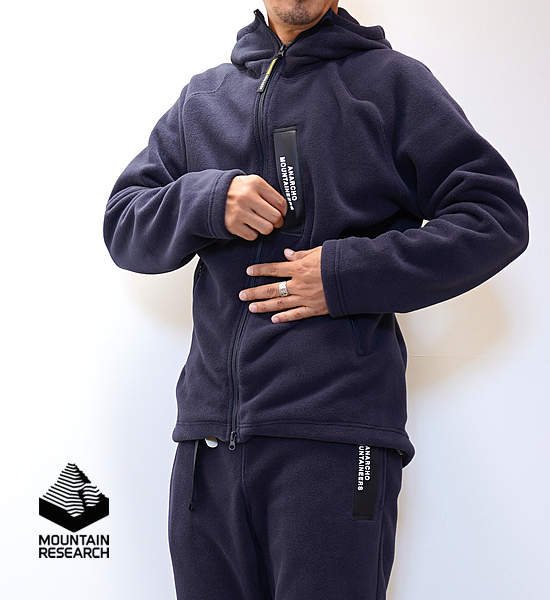 """【Mountain Research】マウンテンリサーチ I.D.Jkt """"Navy"""""""