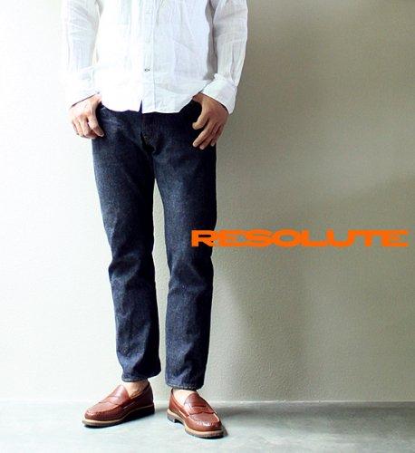 【RESOLUTE】 リゾルト ワンウォッシュデニム Lot710 タイトストレート W26〜W40