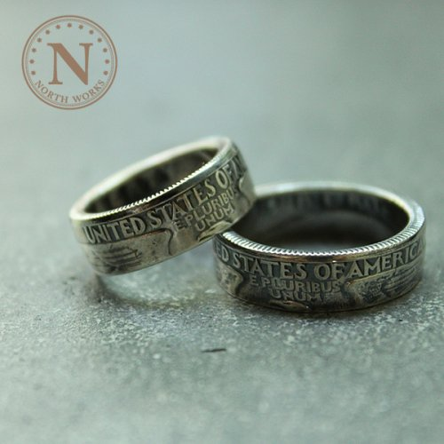 【North Works】ノースワークス Quarter Dollar Ring ※メール便可