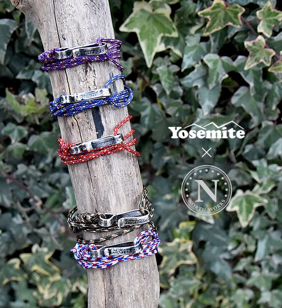 【Yosemite×North Works】ヨセミテ×ノースワークス Quarter Dollar Rope Bracelet & Anklet & Necklace ※メール便可