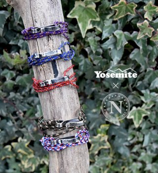 【Yosemite×North Works】ヨセミテ×ノースワークス Quarter Dollar Rope Bracelet & Anklet & Necklace ※ゆうメール可