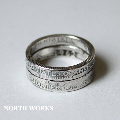 【North Works】ノースワークス 25¢ W-Ring ※送料無料