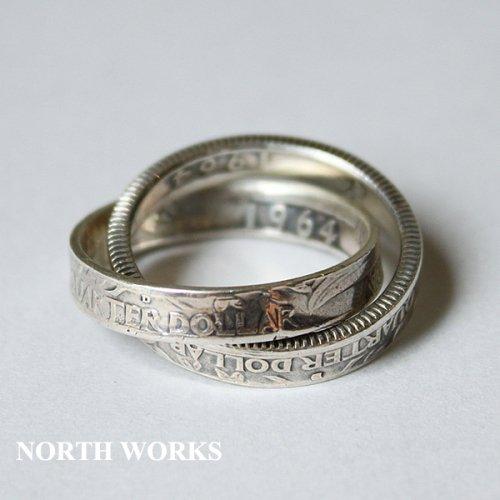 【North Works】ノースワークス 25¢Twin Ring ※送料無料