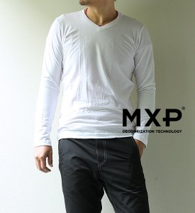<img class='new_mark_img1' src='//img.shop-pro.jp/img/new/icons13.gif' style='border:none;display:inline;margin:0px;padding:0px;width:auto;' />【MXP】 Men's Fine Dry Long Sleeve V