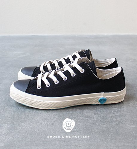 "【SHOES LIKE POTTERY 】 シューズライクポタリー LOW ""Black"""