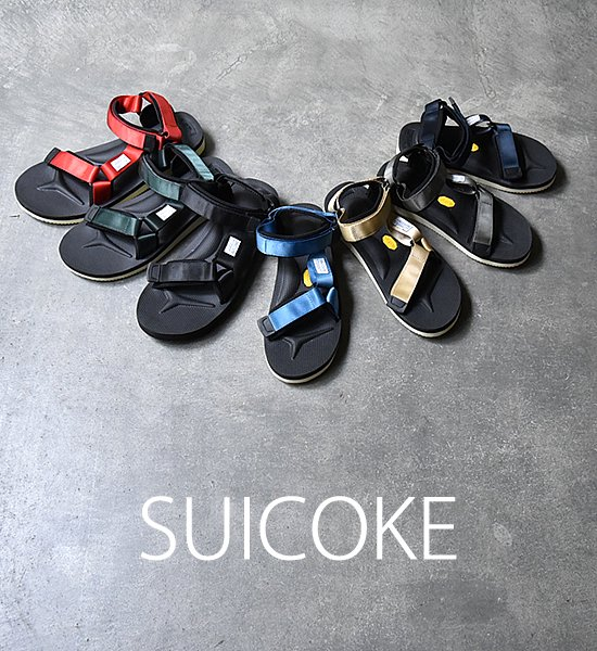 "【SUICOKE】 スイコック DEPA-V2 Sandal ""7Color"""