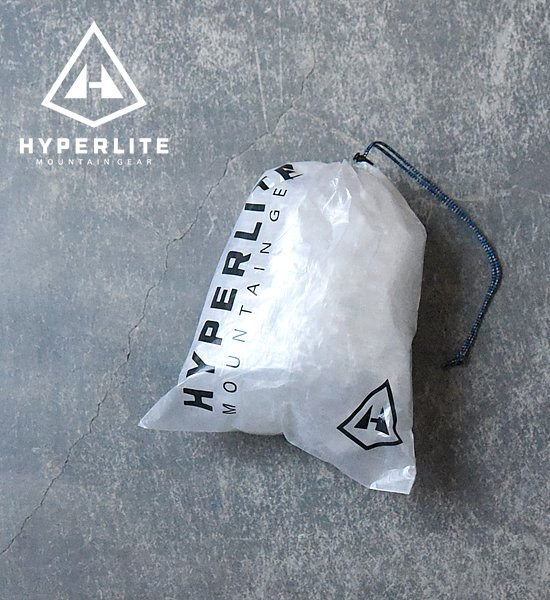 "【Hyperlite Mountain Gear】 Small Cuben Stuff Sack ""White""※メール便可"