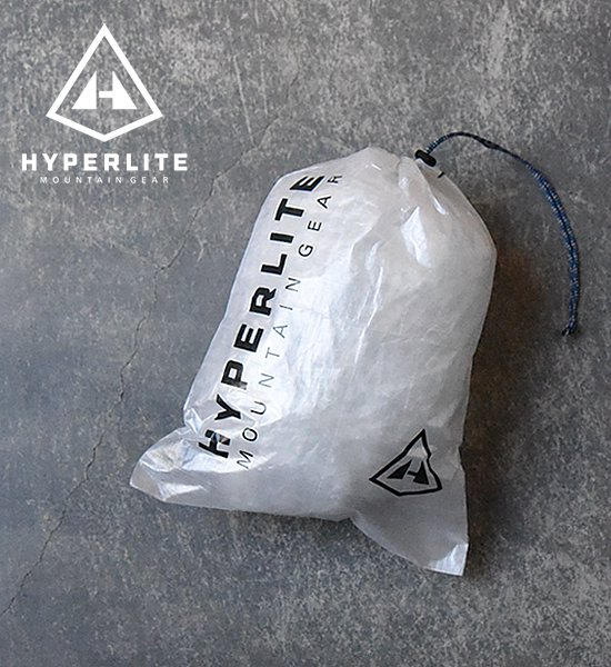 "【Hyperlite Mountain Gear】 Medium Cuben Stuff Sack ""White""※メール便可"