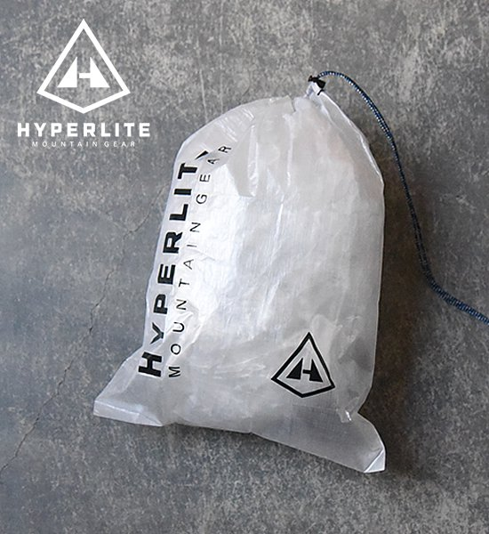 "【Hyperlite Mountain Gear】 Large Cuben Stuff Sack ""White""※メール便可"