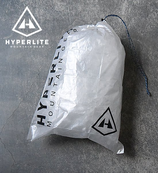 "【Hyperlite Mountain Gear】 X-Large  Cuben Stuff Sack ""White""※メール便可"