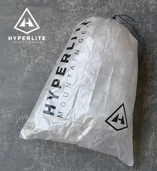 "【Hyperlite Mountain Gear】 Jumbo Cuben Stuff Sack ""White""※メール便可"