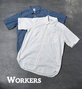"<img class='new_mark_img1' src='//img.shop-pro.jp/img/new/icons13.gif' style='border:none;display:inline;margin:0px;padding:0px;width:auto;' />【WORKERS】ワーカーズ Short Sleeve Work  ""2Color"""