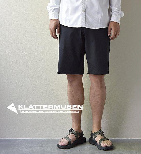 "【KLATTERMUSEN】 クレッタルムーセン Byggvir Shorts ""Black"""