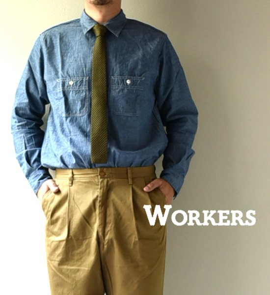 【WORKERS】 ワーカーズ Knit Tie