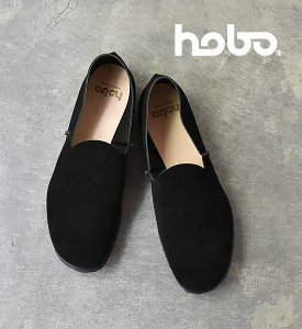 <img class='new_mark_img1' src='//img.shop-pro.jp/img/new/icons13.gif' style='border:none;display:inline;margin:0px;padding:0px;width:auto;' />【hobo】 ホーボー Cow Suede Leather Slip-on Shoes