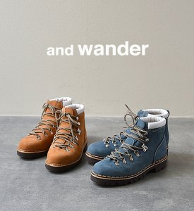 【and wander】 アンドワンダー Trekking Boots by Paraboot