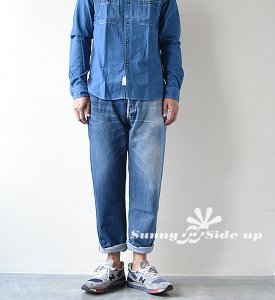 【Sunny side up】サニーサイドアップ Unisex Remake 2 For 1 Denim 5P
