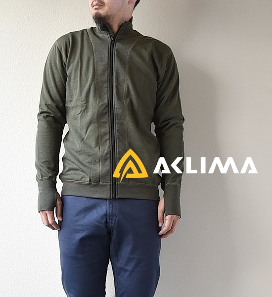 【ACLIMA】アクリマ unisex HOT WOOL Light Jacket