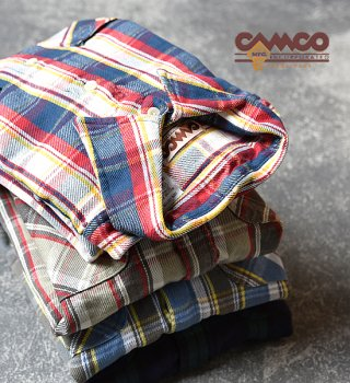 <img class='new_mark_img1' src='//img.shop-pro.jp/img/new/icons13.gif' style='border:none;display:inline;margin:0px;padding:0px;width:auto;' />【CAMCO】 カムコ Flannel Shirts