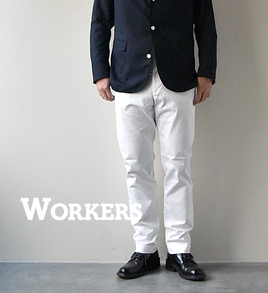 """★30%off【WORKERS】ワーカーズ Workers Officer Trousers, Slim Tapered """"2Color"""""""