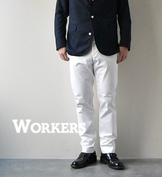 "<img class='new_mark_img1' src='//img.shop-pro.jp/img/new/icons13.gif' style='border:none;display:inline;margin:0px;padding:0px;width:auto;' />【WORKERS】ワーカーズ Workers Officer Trousers, Slim Tapered ""2Color"""