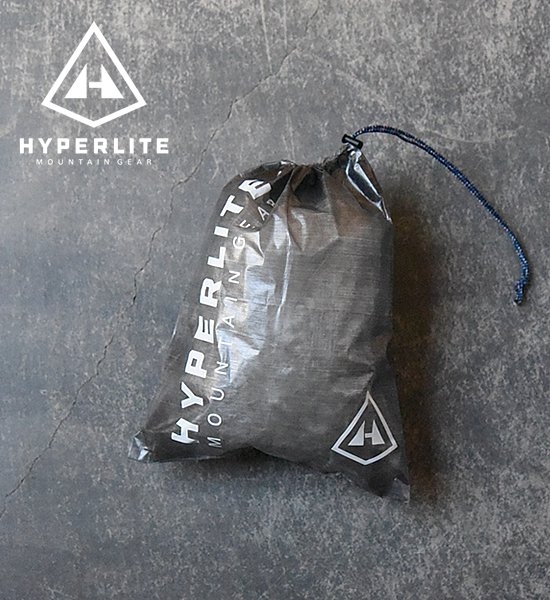 "【Hyperlite Mountain Gear】 Small Cuben Stuff Sack ""Black""※メール便可"