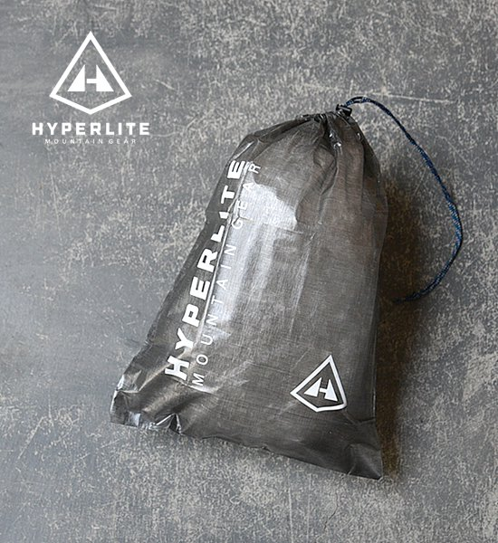 "【Hyperlite Mountain Gear】 Medium Cuben Stuff Sack ""Black""※メール便可"