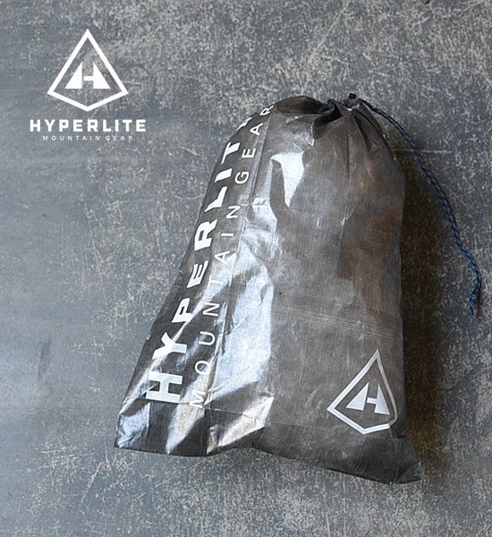 "【Hyperlite Mountain Gear】 Large Cuben Stuff Sack ""Black""※メール便可"