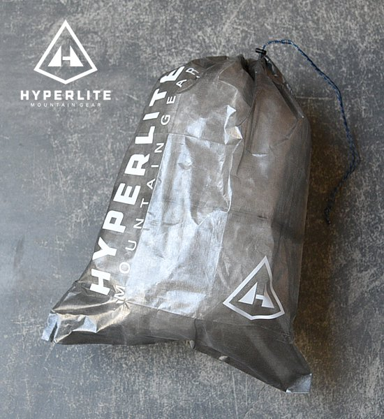 "【Hyperlite Mountain Gear】 X-Large Cuben Stuff Sack ""Black""※メール便可"