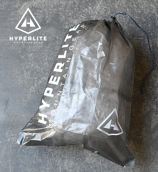 "【Hyperlite Mountain Gear】 Jumbo Cuben Stuff Sack ""Black""※メール便可"