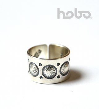 <img class='new_mark_img1' src='https://img.shop-pro.jp/img/new/icons13.gif' style='border:none;display:inline;margin:0px;padding:0px;width:auto;' />【hobo】 ホーボー Hogan Silver Ring Narrow by STANLEY PARKER