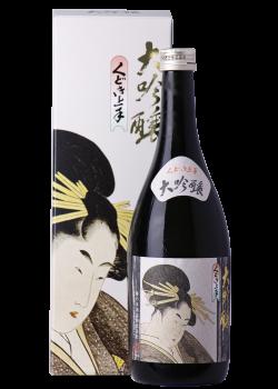 【専用箱入】くどき上手 大吟醸 山田錦35 720mLの瓶