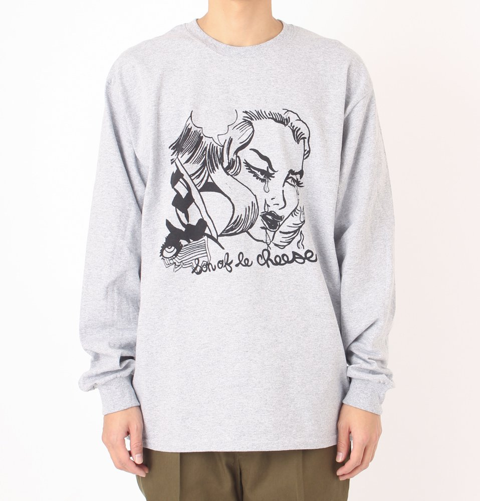 SAD LONG TEE(GRAY)