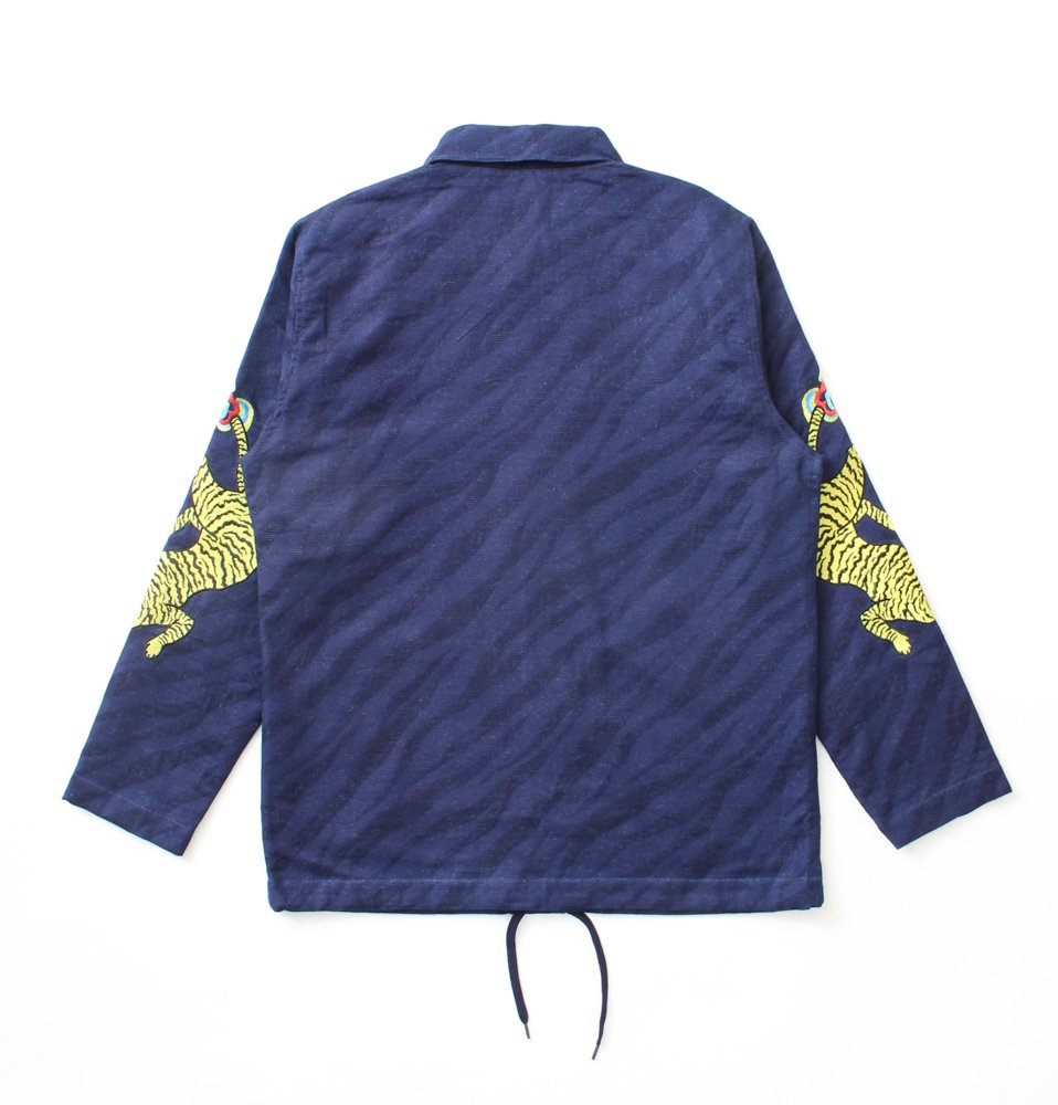 INDIGO TIGER JKT(BLACK)