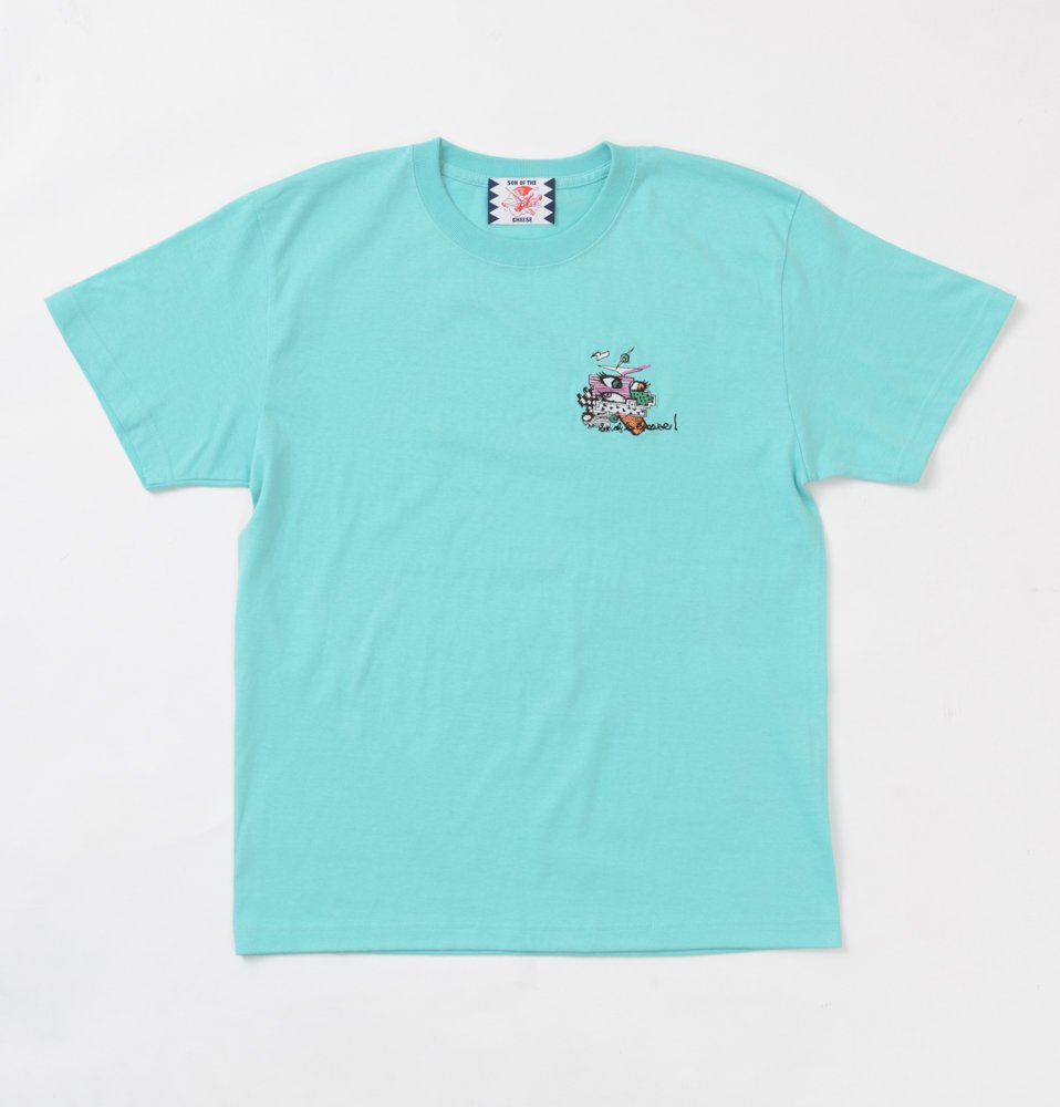 EMBROIDERY TEE(MINT)