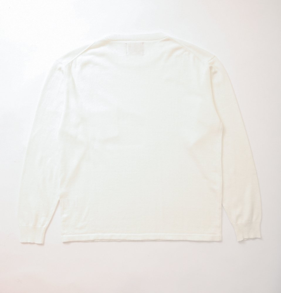 C100 long sleeve(OFF WHITE)