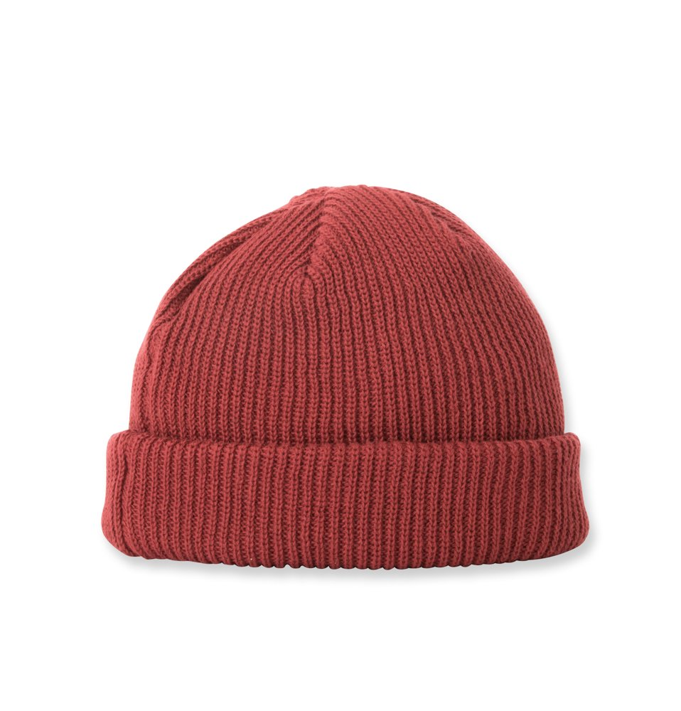 C100 KNIT CAP(WINE)