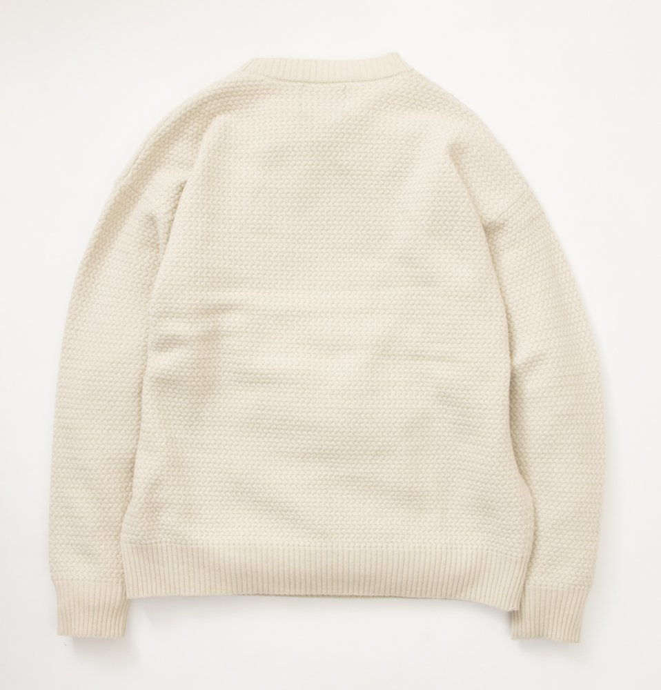 Sweeve sweater(OFF WHITE)