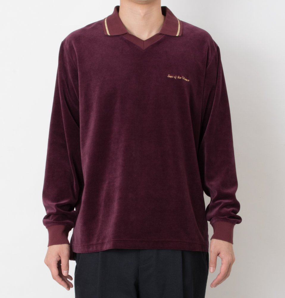 Velor Polo(WINE)