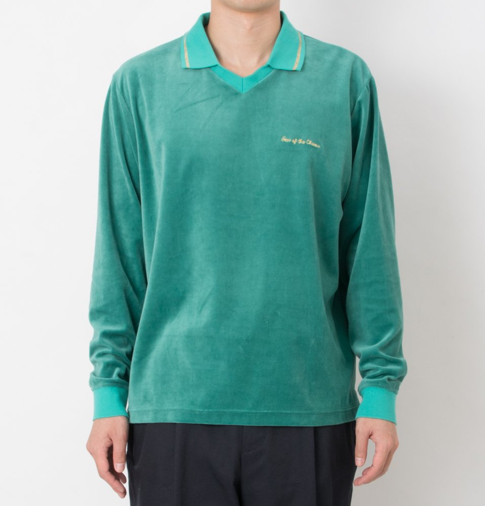 Velor Polo(GREEN)