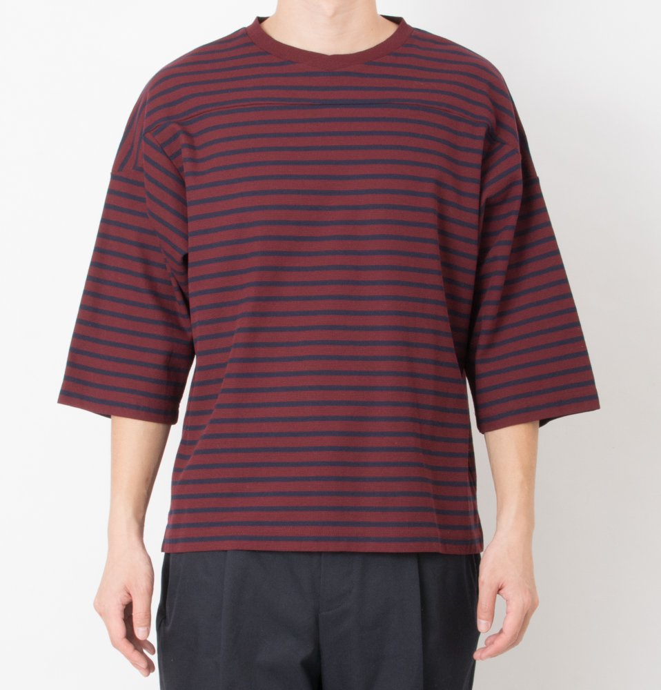 surf knit board shirts(WINE)