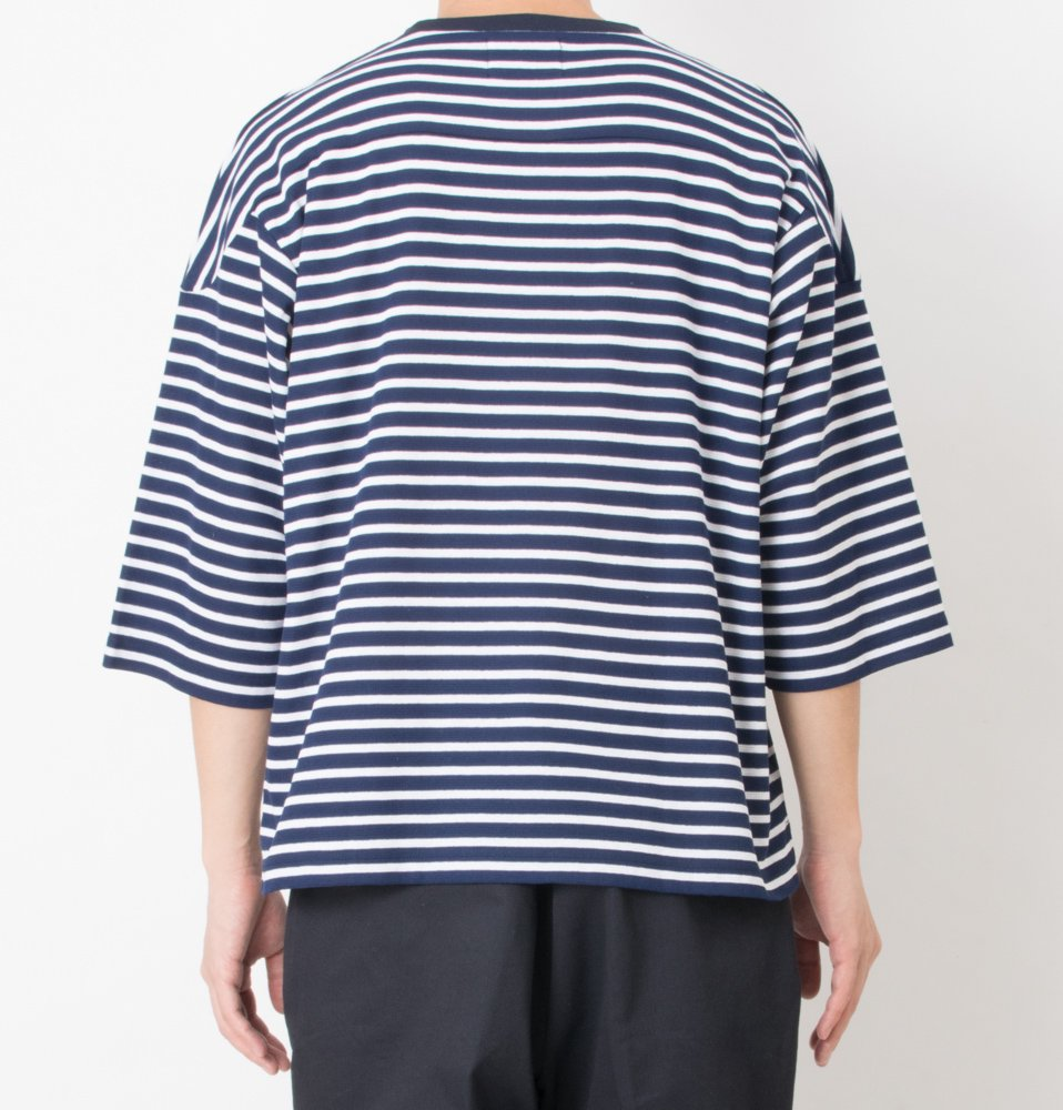 surf knit board shirts(NAVY)