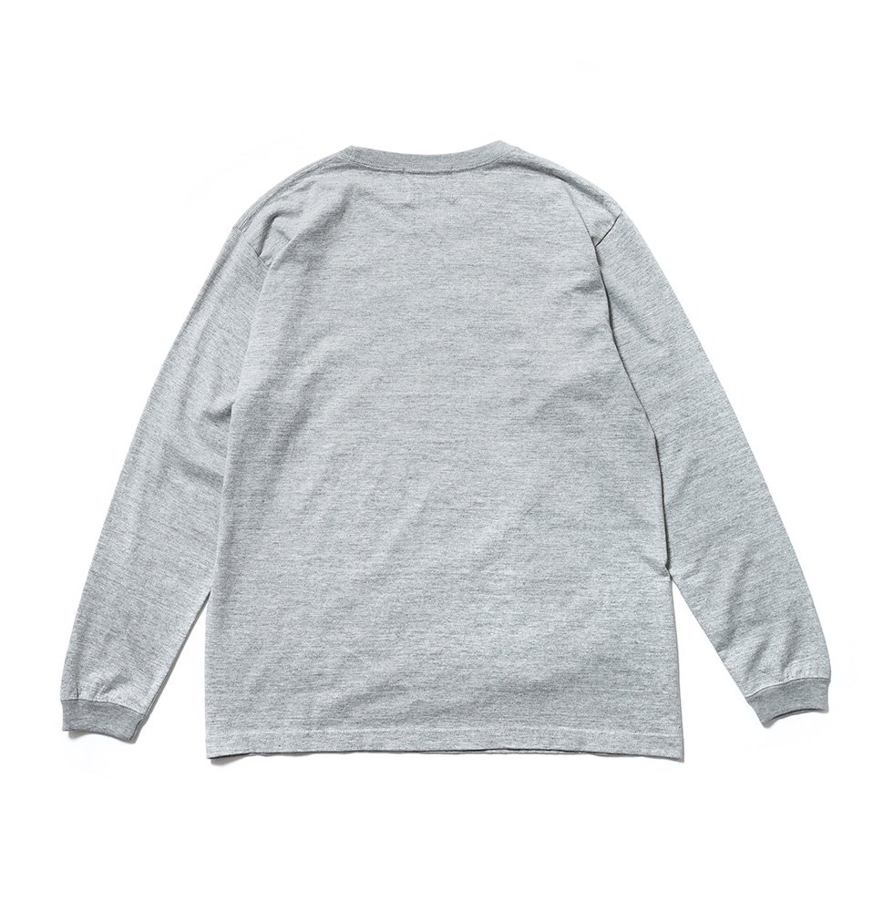 Face long shirt(GRAY)