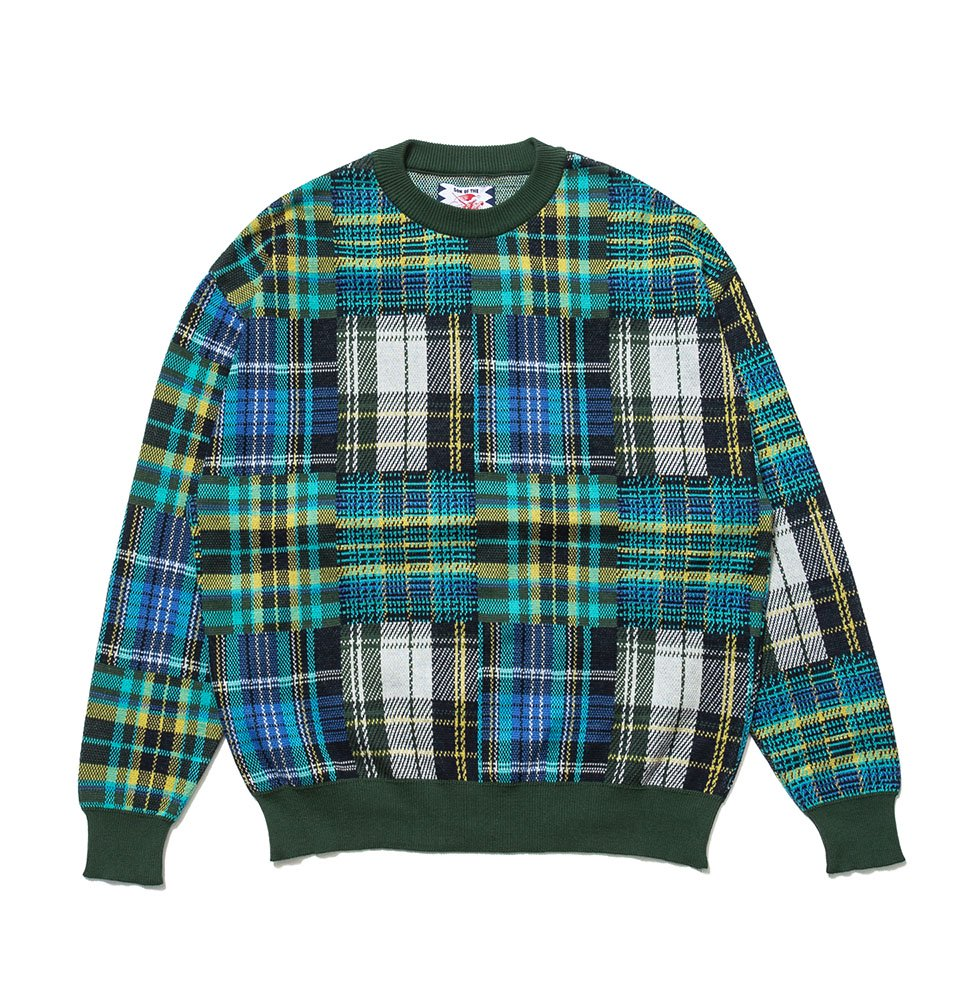 Mandarin C100 knit(GREEN)