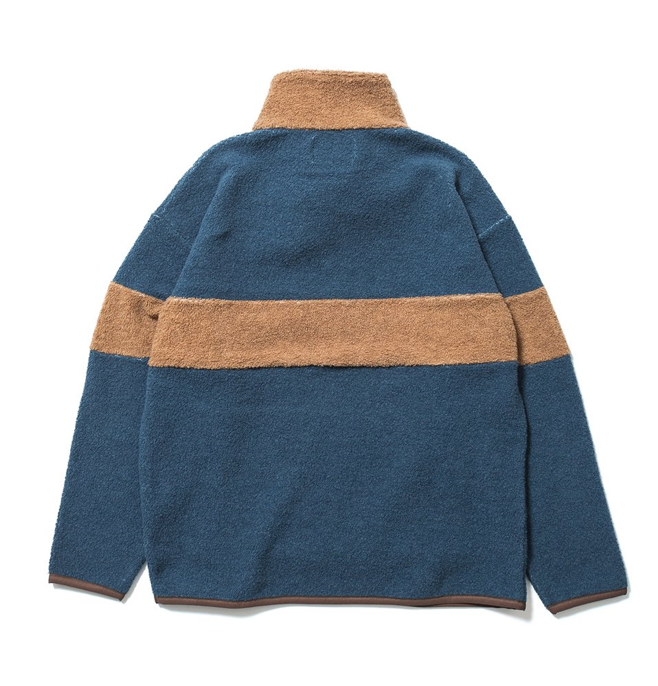 Fleece zip(BLUE)