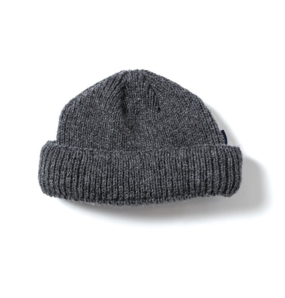 WOOL BEANIE short(GRAY)