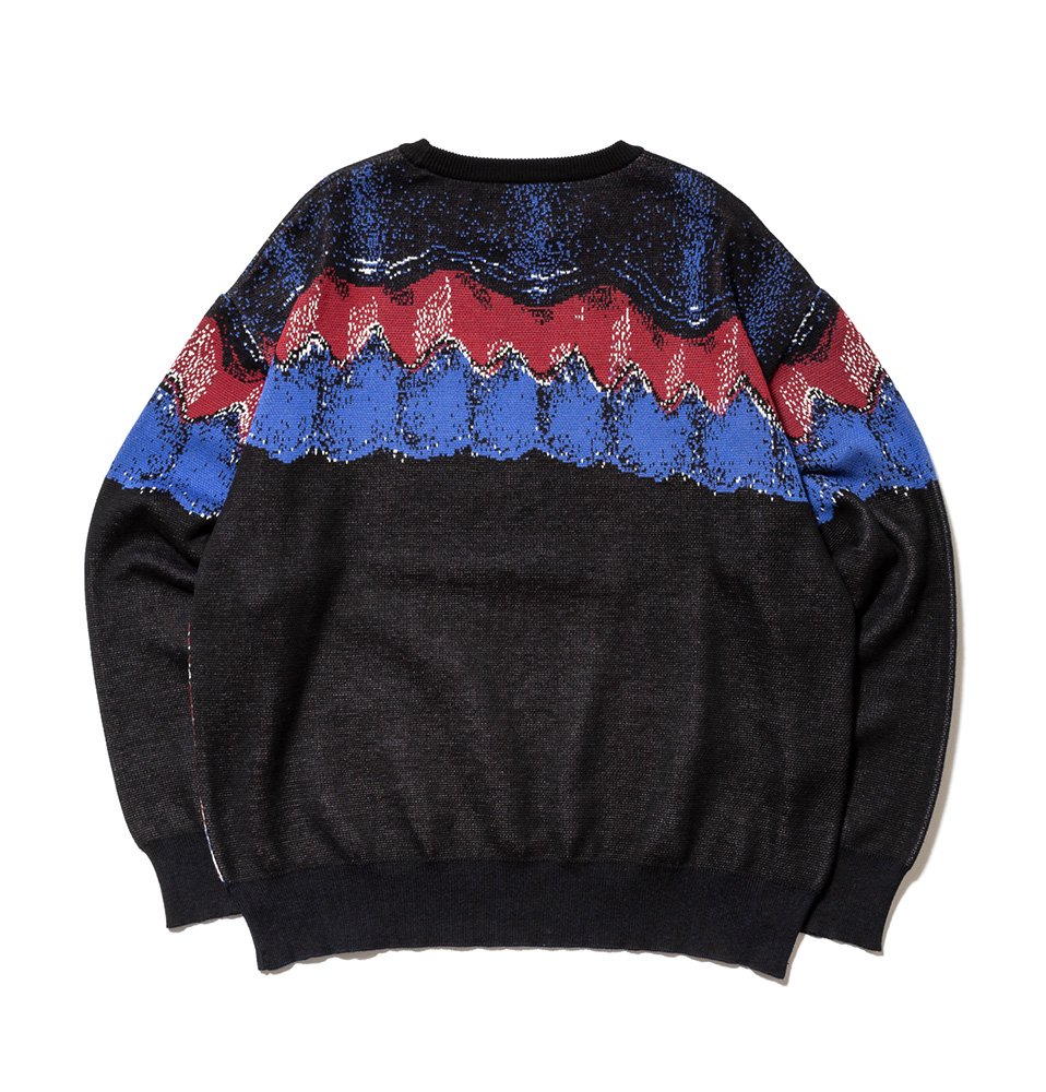 Crystal bubble Knit(BLACK)