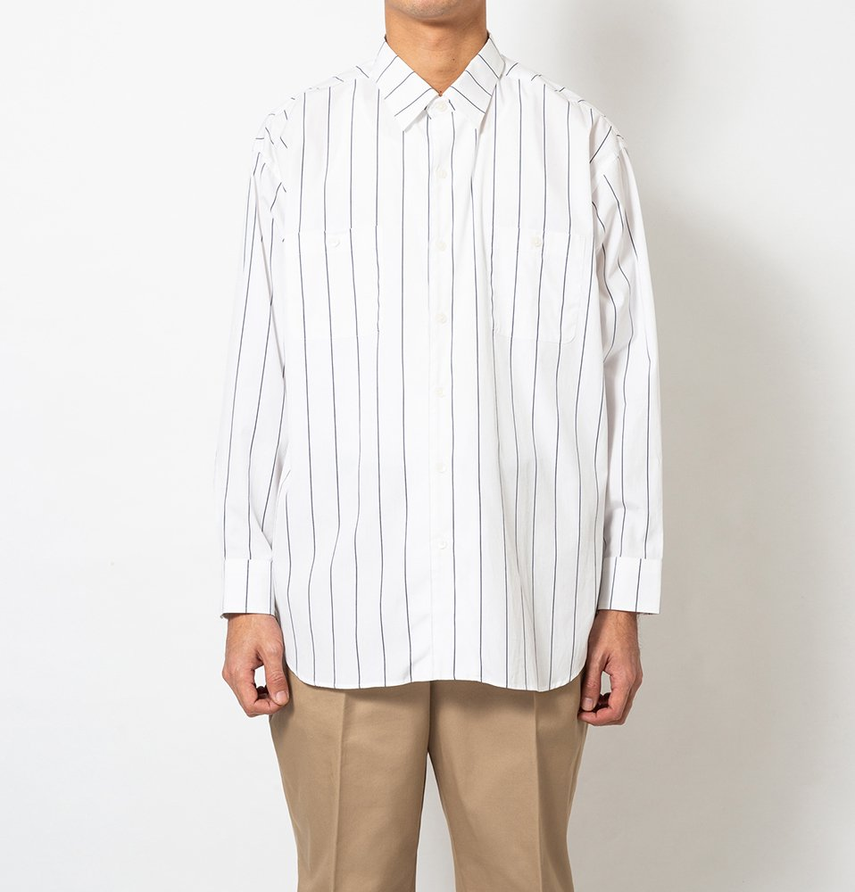 Big Stripe Shirt(NAVY ST)
