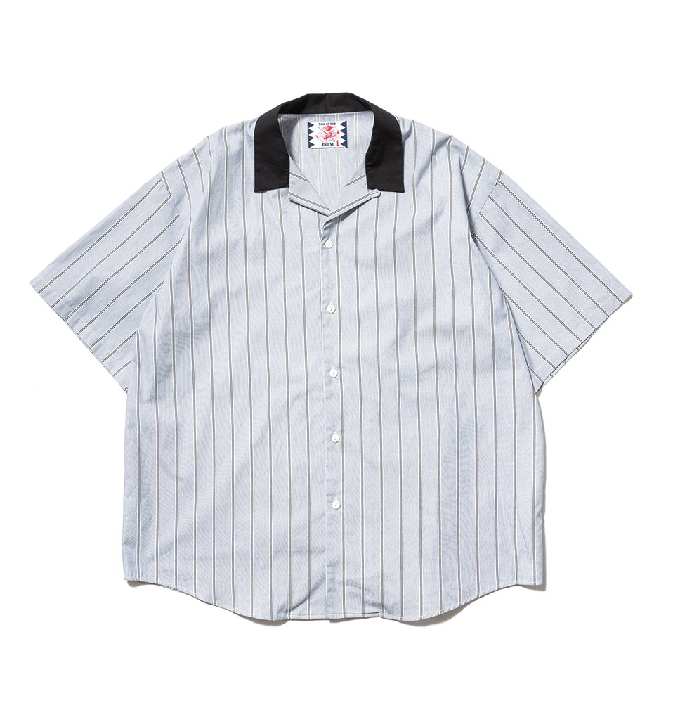 SON OF THE CHEESE 『Stripe Cleric Shirt』